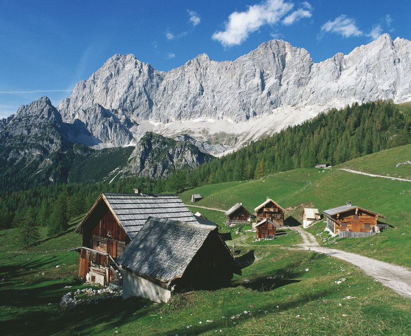 Neustattalm bei Ramsau /Dachstein-Suedwand / Steiermark © Österreich Werbung, Fotograf: Jezierzanski