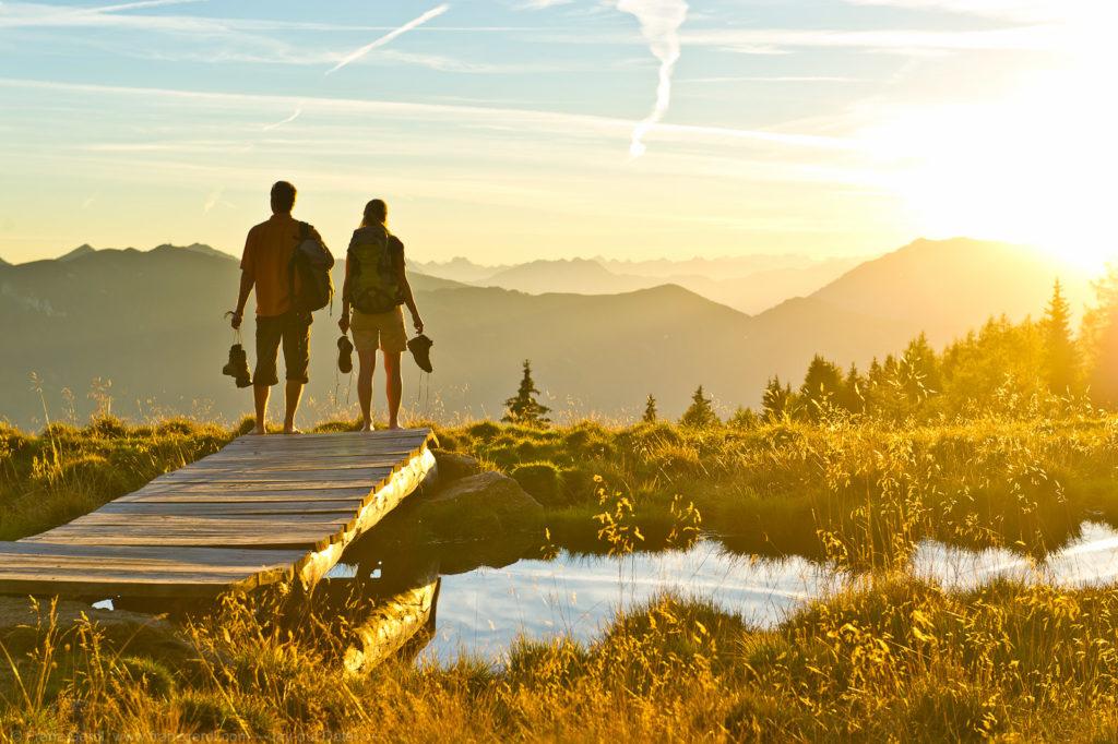 Wandern, Radeln, Golfen aber auch Kulinarik stehen im Kärntner Spätsommer im Mittelpunkt. (c) Franz Gerdl.  Kärnten Werbung