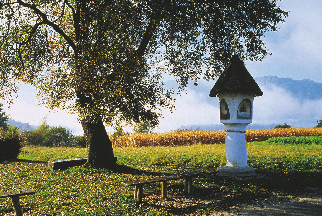 Bildstock in Faak am Faaker See. © Österreich Werbung, Fotograf: Herzberger