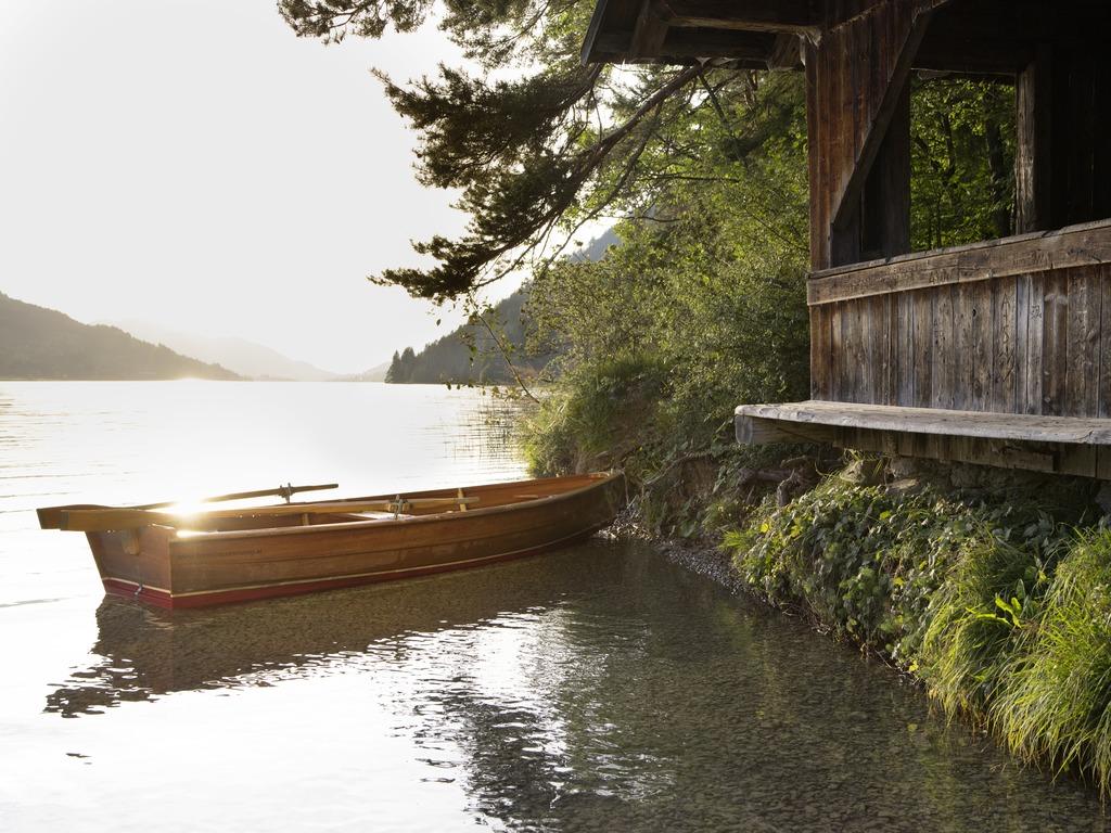Boot am Weissensee © Österreich Werbung, Fotograf: Peter Podpera