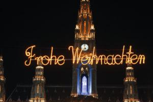 Rathaus in Wien zur Weihnachtszeit. © Österreich Werbung, Fotograf: Bartl