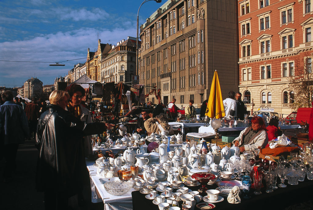 Flohmarkt beim Naschmarkt ©WienTourismus/Popp & Hackner