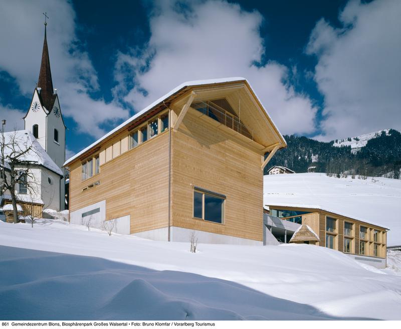 (c) Vorarlberg Tourismus. 861_Gemeindezentrum_Blons