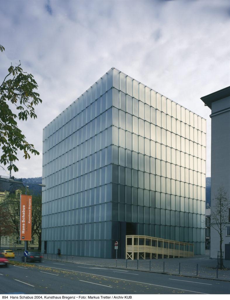 Kunsthaus Bregenz. (c) Vorarlberg Tourismus / Markus Tretter