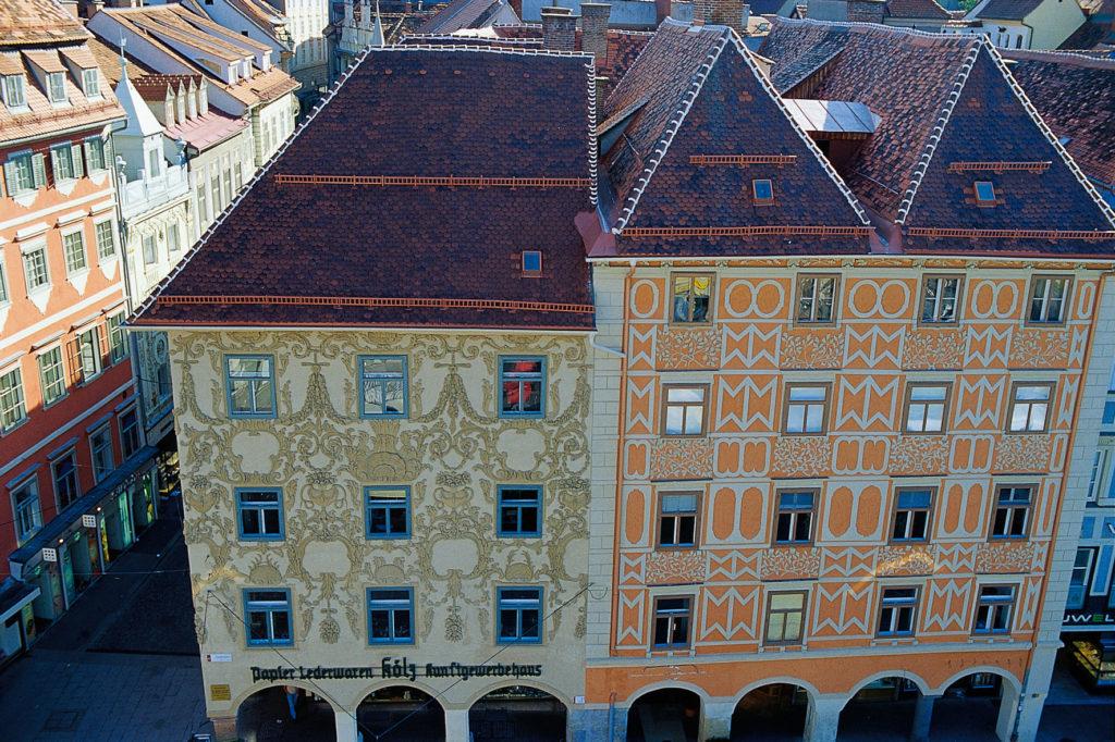 Hauptplatz Luegghaus © Graz Tourismus - Hans Wiesenhofer