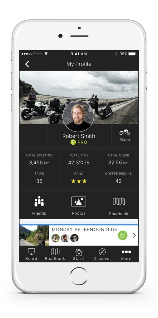 RISER Biker Network