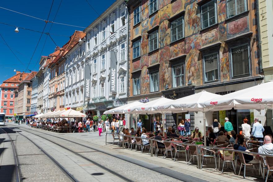 Herrengasse Graz © Graz Tourismus - Harry Schiffer
