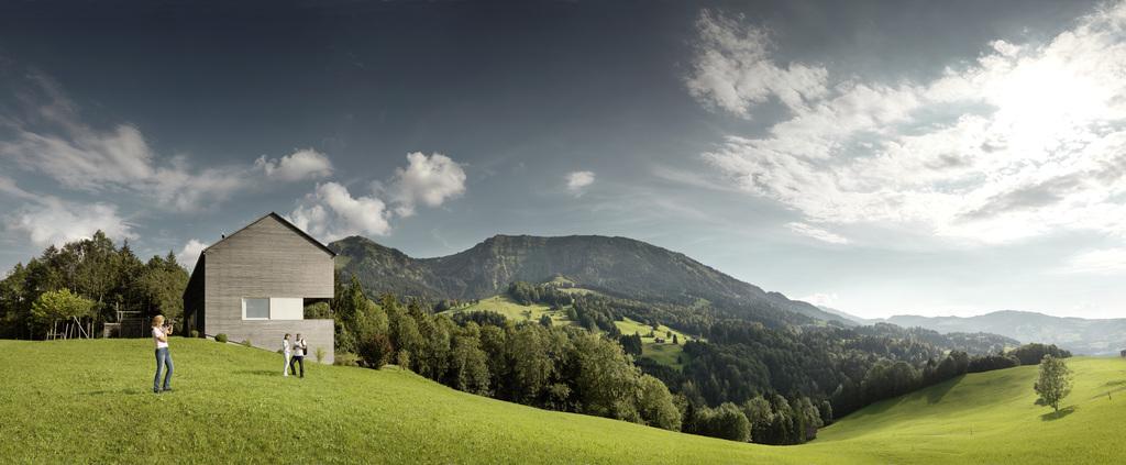 Architektur Großes Walsertal © Österreich Werbung, Fotograf: Peter Burgstaller