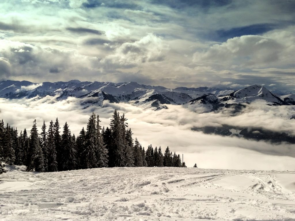 Skigebiet in Kitzbühel
