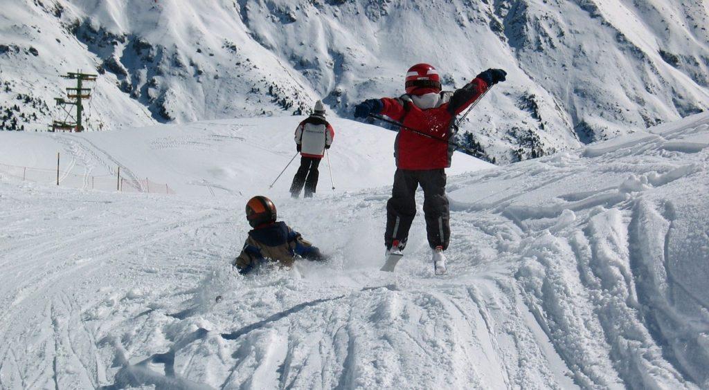 Skifahren - ein Megaspaß für Kids