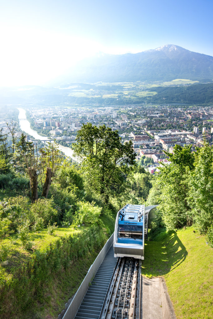 Innsbruck, Hungerburg Bahn