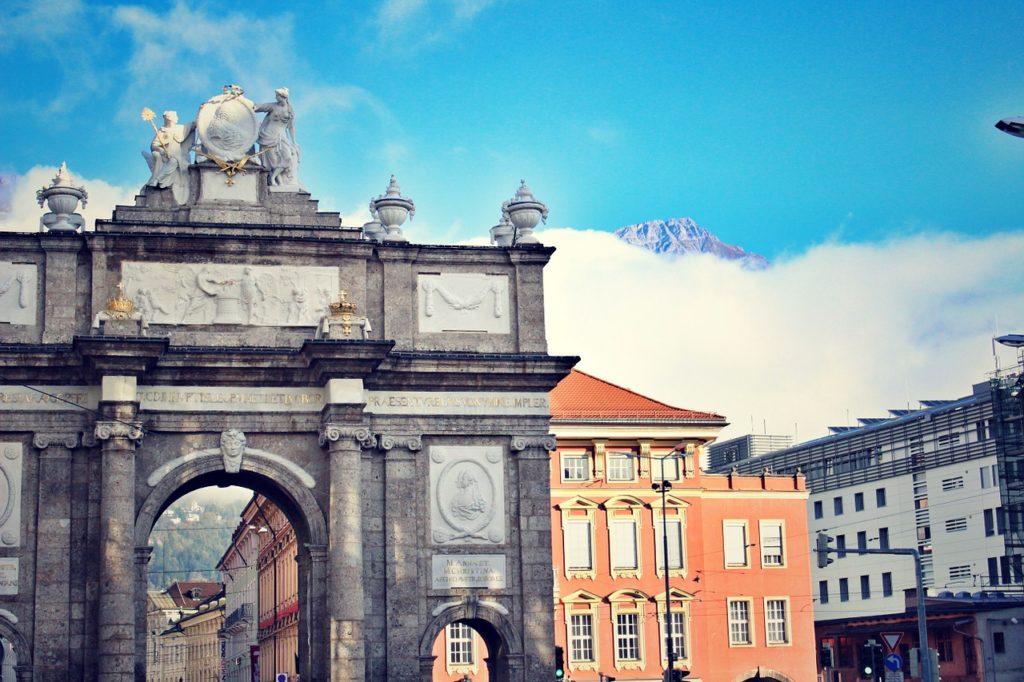 Die Innsbrucker Triumpfpforte